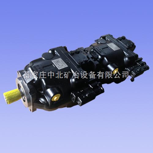 HAIDE HYDRAULICS海德KKR147+KKR130DLS1820W5两联变量柱塞泵
