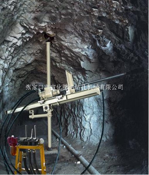 井下用潜孔钻机立柱式潜孔钻机QZJ100B-J
