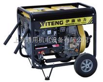 可移动柴油发电电焊机|工程用自发电电焊机